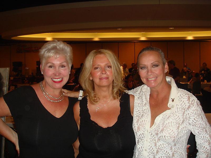 Rhonda sanderson, janet lupo november 75 playmate and me