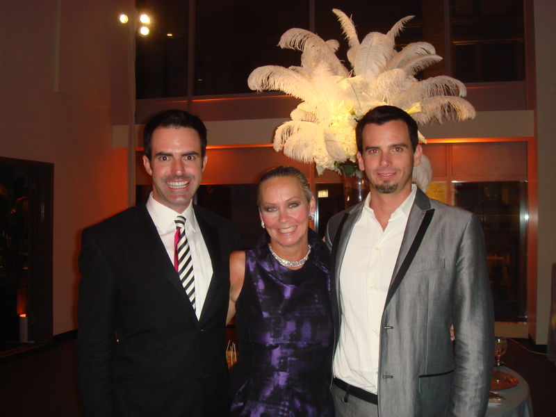 Christopher conway, me and jonathan ryan from a perfect event
