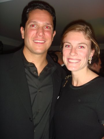 Maggie barr and dr. mario lacouture