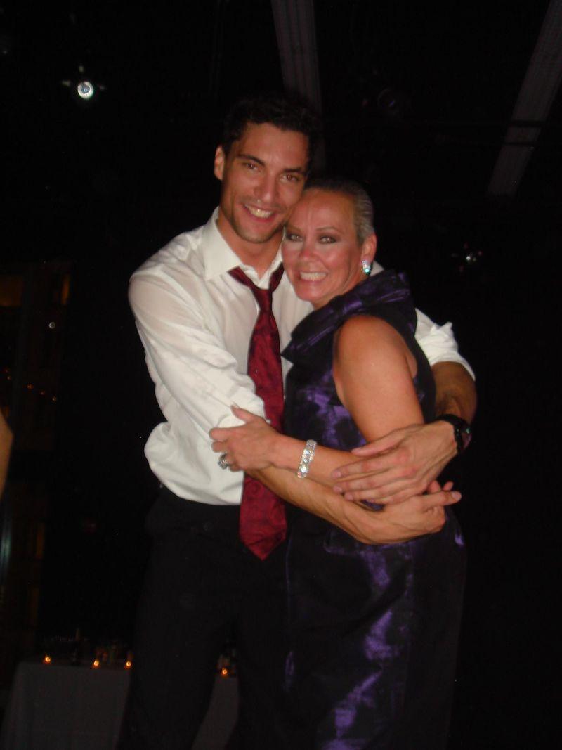 Me and joffrey dancer fabrice calmels