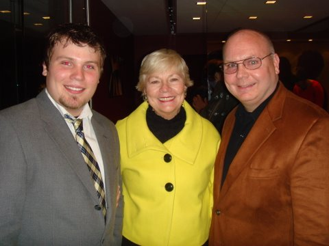 Mike Howlett, Maggie Daley and Ed Howlett