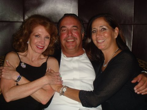 Sheryl dyer with andy and jean antoniou