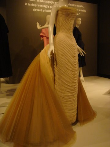 1954 Charles James Butterfly Gown - 25 yards of peau de soie and nylon netting and weighed 25 lbs.