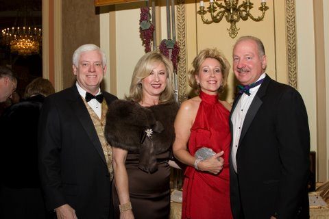 Richard and Yvette Cusack with Sheree and Jim Valukas