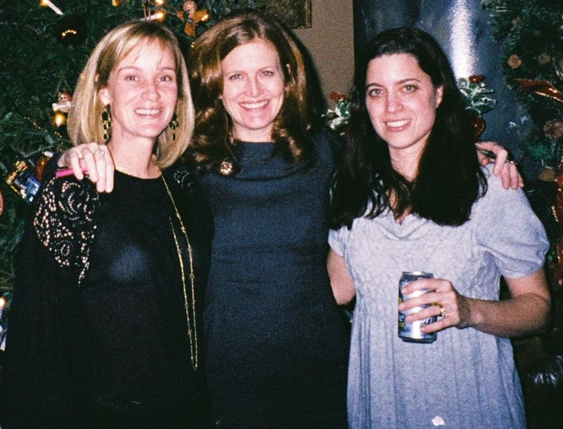 Kathy Biden and her cousin Amy D'Amato and Aili Bresnahan