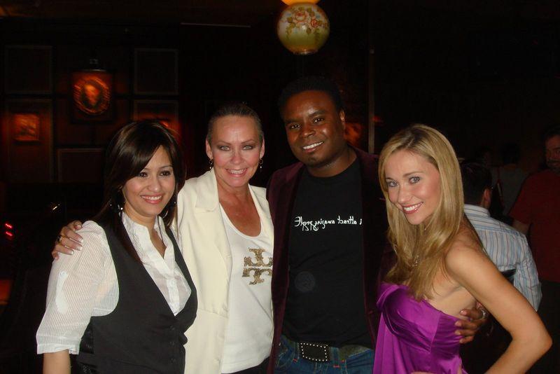 Natalia Criollo-Avilez , me, Marcus Riley and Ashley Lobo diva pic two