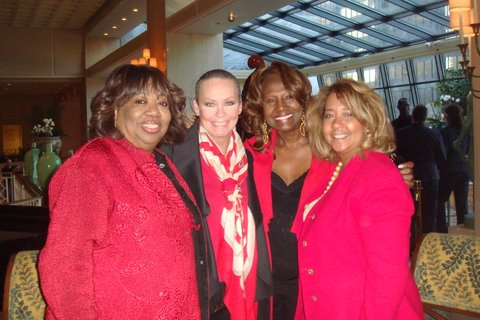 Barbara Samuels, me, Dori Wilson and Donna Hodge