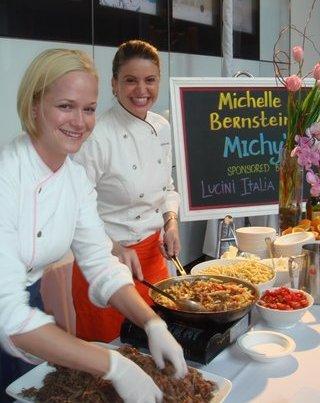 Blog 4 - Michelle Bernstein and crew at the VIP Reception