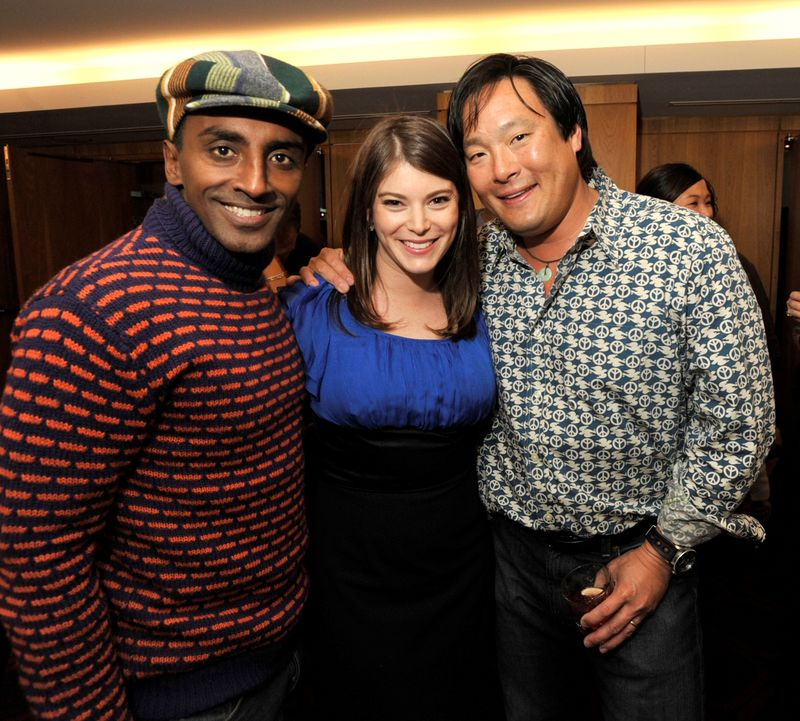 Blog 15 - Chef Marcus Samuelsson, Gail Simmons and Ming Tsai