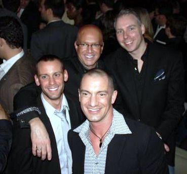 Blog greg - Michael Lapenski, Rod Kaup, Patrick Sheehan and Greg Hyder