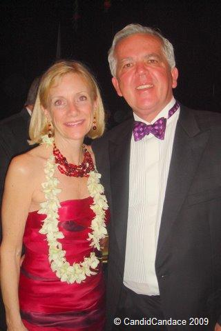 Blog 7 - 2010 Discovery Ball co-chairs Victoria and Gary Holdren