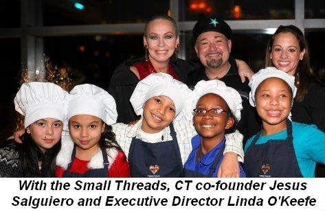 Blog 2 - With the Small Threads and CT co-founder Jesus Salguiero and Executive Director Linda O'Keefe