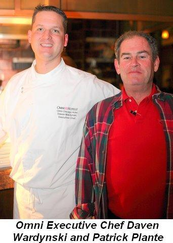 Blog 3 - Omni Executive Chef Daven Wardynski and Patrick Plante