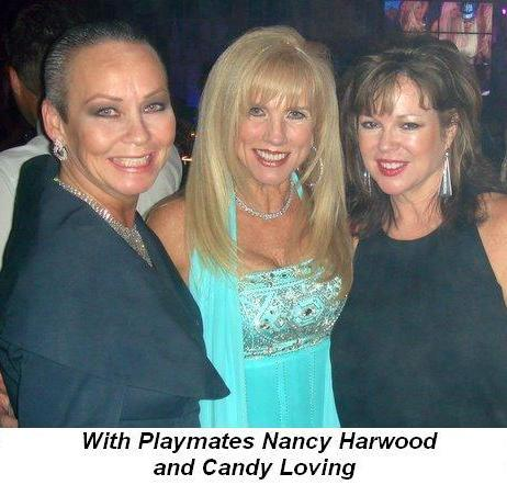 Blog 8 - With Playmates Nancy Harwood and Candy Loving