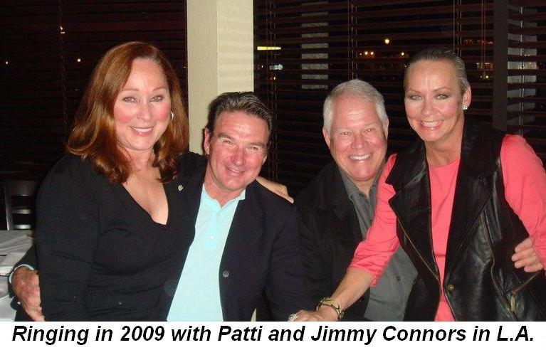 01 - With Patti and Jimmy Connors for New Year's Eve