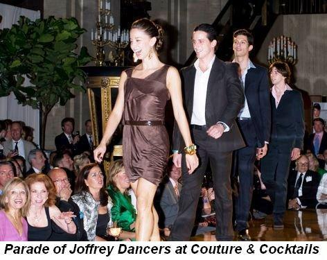 09 - Parade of Joffrey dancers at the Joffrey Ballet's Couture & Cocktails event on Sept 25th