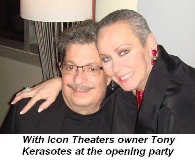 02 - With owner of Icon Theaters Tony Kerasotes at opening party on Dec. 16th