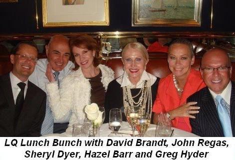 03 - LQ Lunch Bunch with David Brandt, John Regas, Sheryl Dyer, Hazel Barr and Greg Hyder on July 2nd