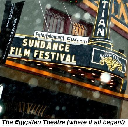 Blog 1 - Egyptian Theatre Where it all began
