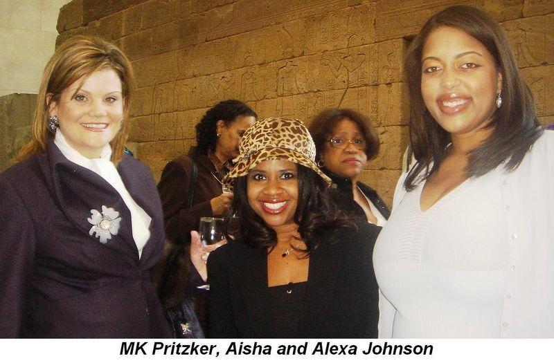 Blog 4 - MK Pritzker, Aisha and Alexa Johnson