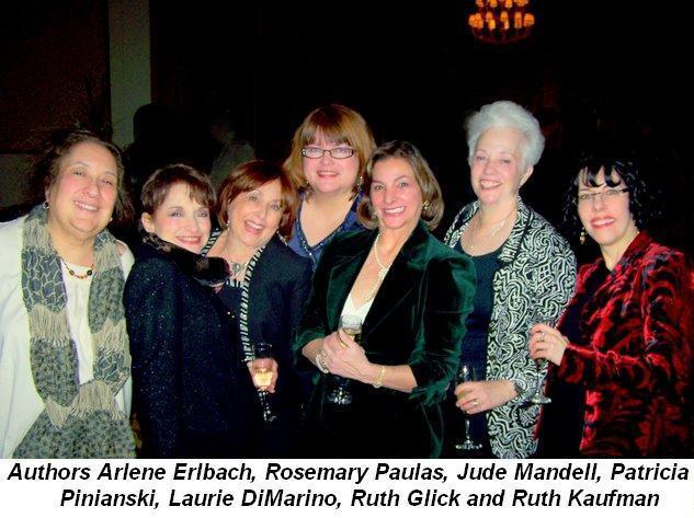 Blog 5 - Authors Arlene Erlbach, Rosemary Paulas, Jude Mandell, Patricia Pinianski, Laurie DiMarino, Ruth Glick and Ruth Kaufman