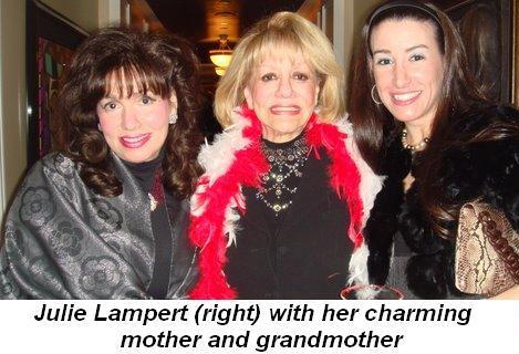 Blog 3 - Julie Lampert with her charming grandmother and mother
