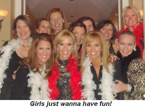 Blog 4 - Girls just wanna have fun