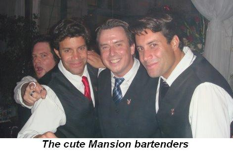 Blog 21 - The cute Mansion bartenders