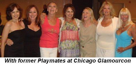 08 - Glamourcon in Chicago with former Playmates on August 15th