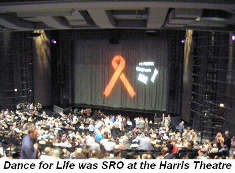 07 - Dance For Life was a sell out at the Harris Theatre in Sept