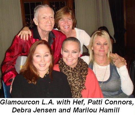 01 - Glamourcon in LA With Hef, Patti Connors, Debra Jensen and Marilou Hamill in Nov