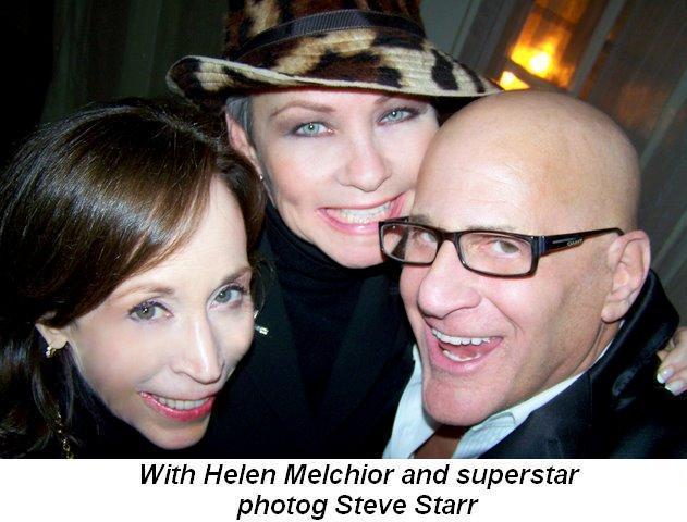 Blog 3 - With Helen Melchior and superstar photog Steve Starr