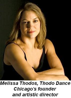 Melissa Thodos, founder and artistic director of Thodos Dance Chicago