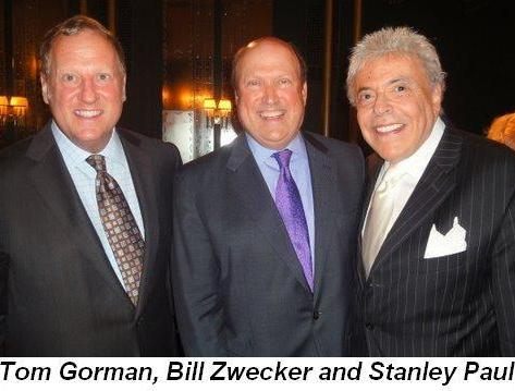 Blog 1 - Tom Gorman, Bill Zwecker and Stanley Paul