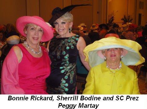 Blog 4 - Bonnie Rickard, Sherrill Bodine and SC Prez Peggy Martay