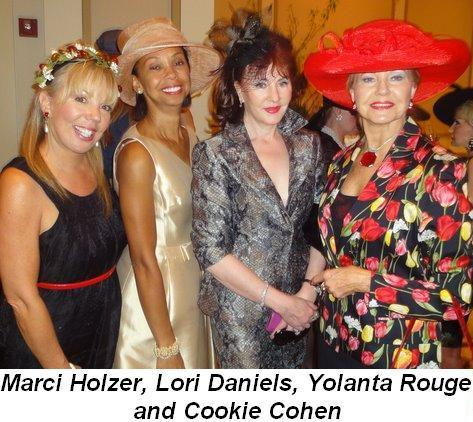 Blog 7 - Marci Holzer, Lori Daniels, Yolanta Rouge and Cookie Cohen
