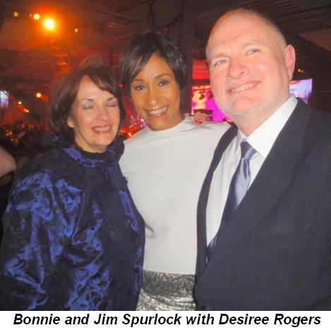 Blog 5 - Bonnie and Jim Spurlock with Desiree Rogers