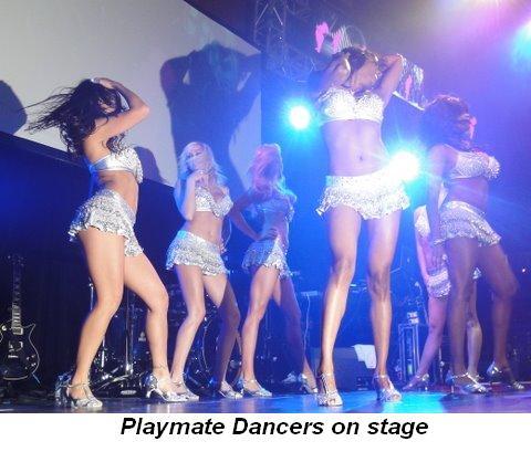 Blog 4 - Playmate Dancers onstage
