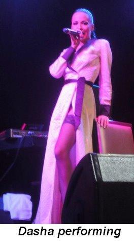 Blog - Dasha performing in the duo Nikita