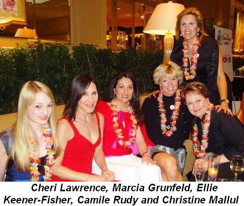 Blog 4 - Cheri Lawrence, Marcia Grunfeld, Ellie Keener-Fisher, Camille Rudy and co-chair Christine Mallul