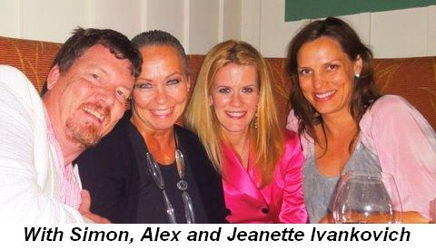 Blog 7 - With Simon, Alex and Jeanette Ivankovich