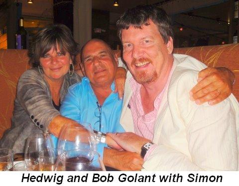 Blog 2 - Hedwig and Bob Golant with Simon