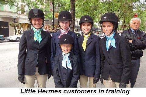Blog 2 - Little Hermes customers in training