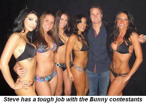 Blog 2 - Steve has a tough job with the Bunny contestants