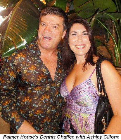 Blog 4 - Palmer House's Dennis Chaffee with Ashley Cilfone