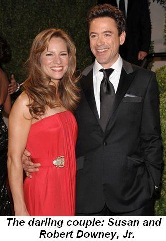 Blog 8 - The darling couple Susan and Robert Downey, Jr