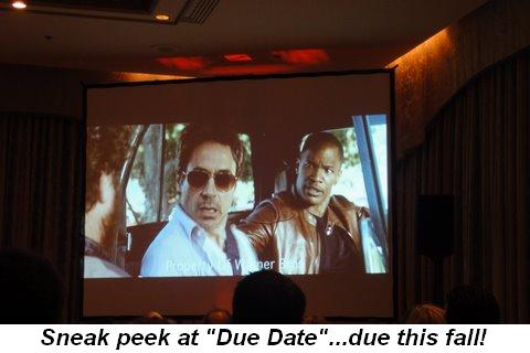 Blog 11 - Sneak peek at Due Date coming out in the fall