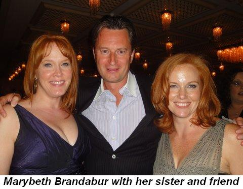 Blog 17 - Marybeth Brandabur with her sister and friend