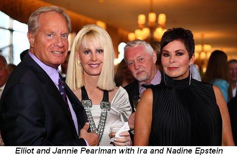 Blog 6 - Elliot and Jannie Pearlman with Ira and Nadine Epstein