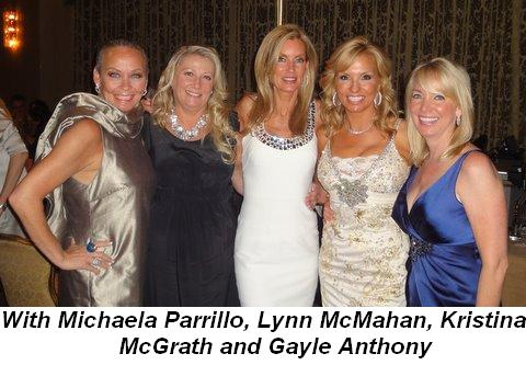 Blog 13 - With Michaela Parrillo, Lynn McMahan, Kristina McGrath and Gayle Anthony